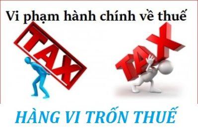 Những điều cần biết về trốn thuế
